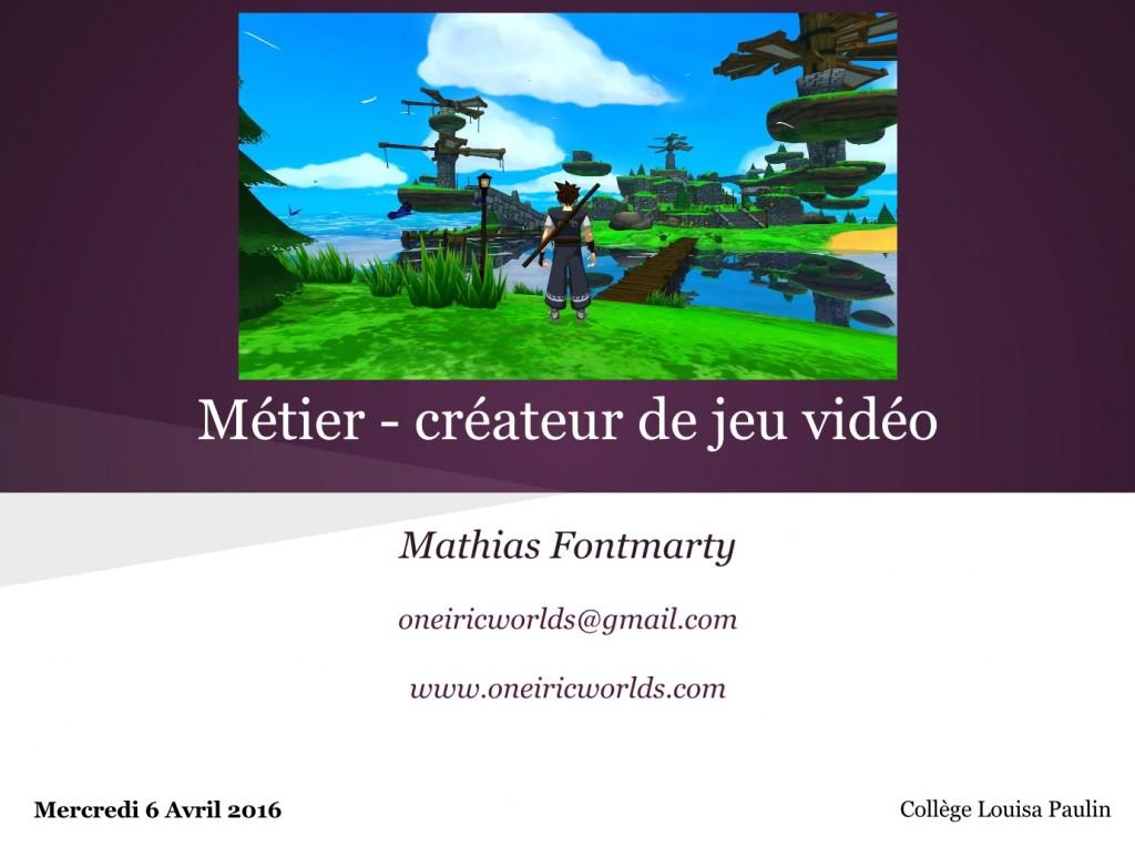 forumMetier